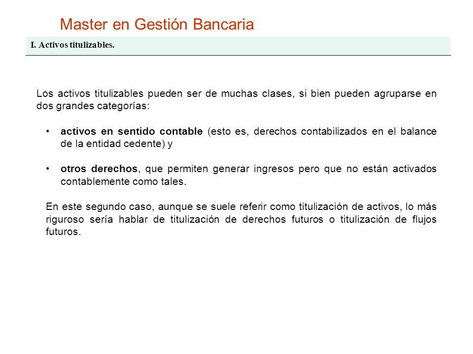 Master en Gestión Bancaria II.Factores.