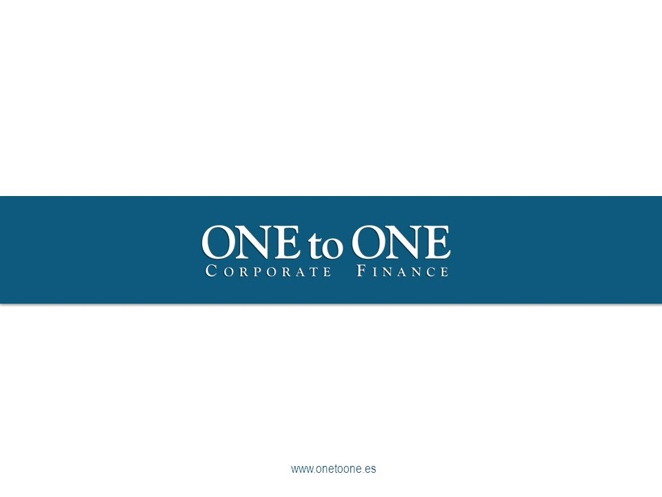12 © COPYRIGHT 2013 ONEtoONE Corporate Finance www.onetoone.es - Las Socimi ONEtoONE Corporate Finance Tipos de REITs Los REITs especializados en Retail acumulan el 24% de la capitalización del total.