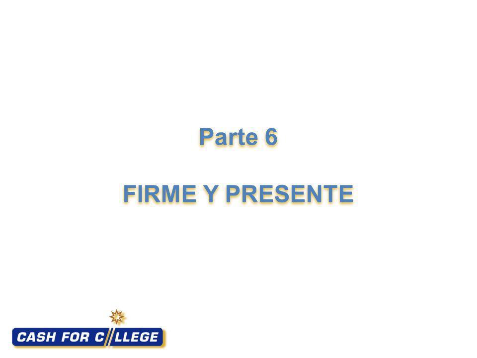 Parte 6 FIRME Y PRESENTE