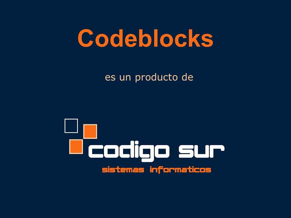 es un producto de Codeblocks