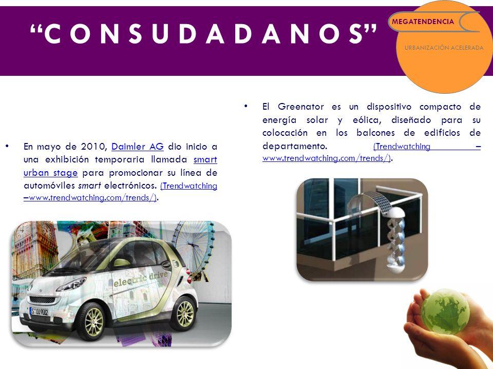 En mayo de 2010, Daimler AG dio inicio a una exhibición temporaria llamada smart urban stage para promocionar su línea de automóviles smart electrónicos.
