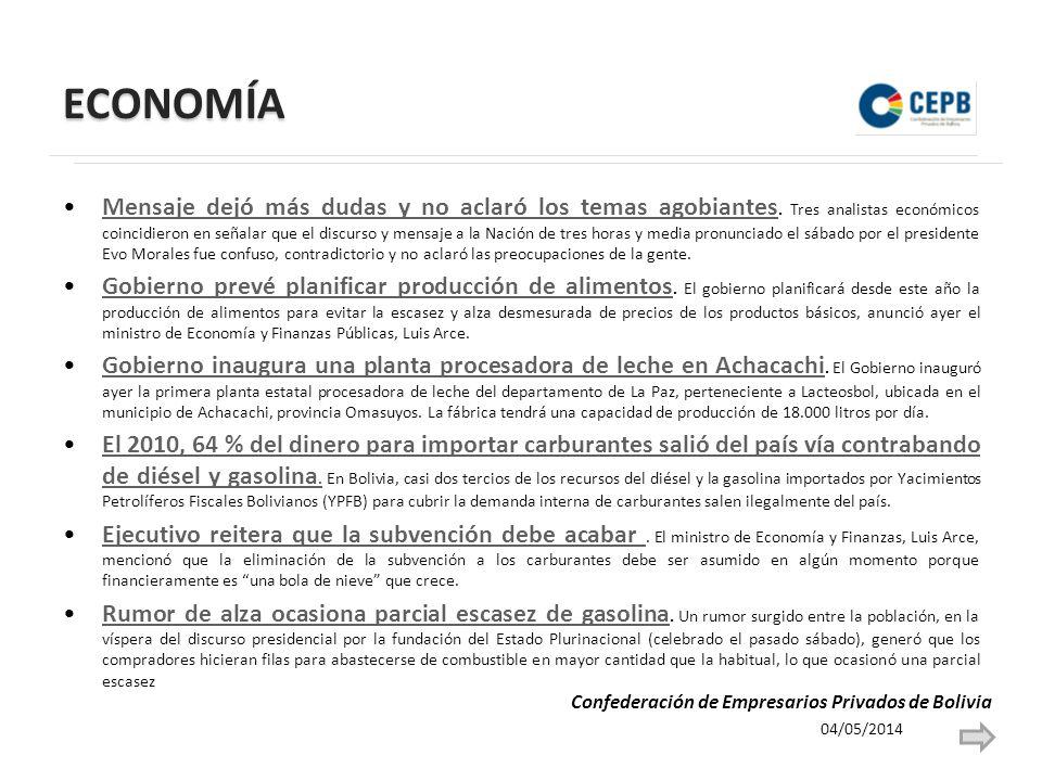 ECONOMÍA La AEMP iniciará hoy fiscalización a Coca-Cola.