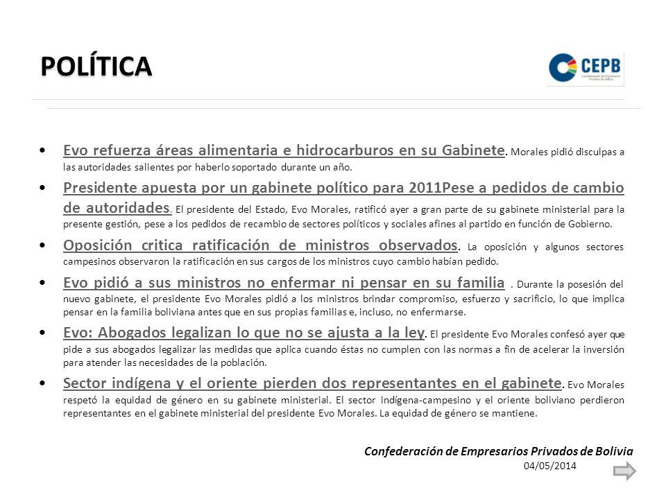 POLÍTICA El Alto y el Conamaq, disconformes.