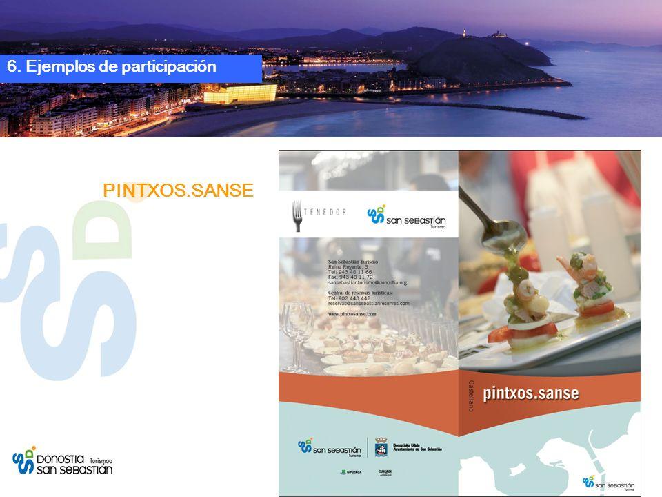 PINTXOS.SANSE 6. Ejemplos de participación