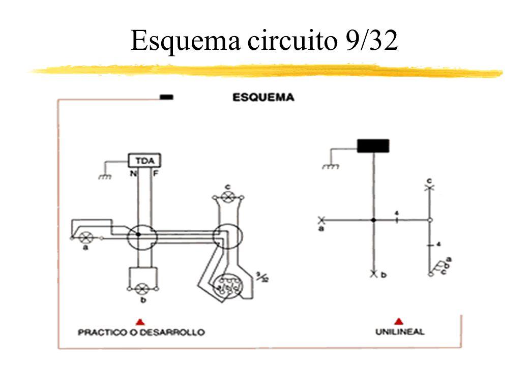 Esquema circuito 9/32