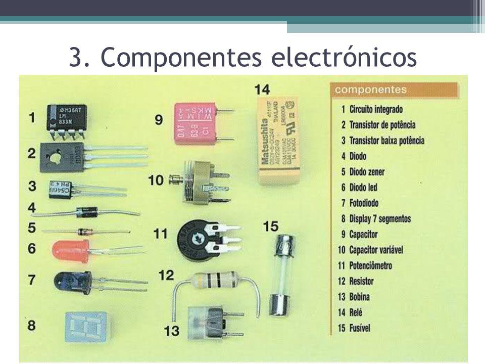 3. Componentes electrónicos