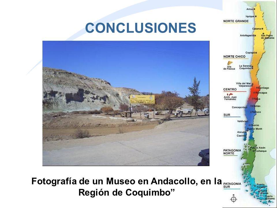 CONCLUSIONES Fotografía de un Museo en Andacollo, en la Región de Coquimbo