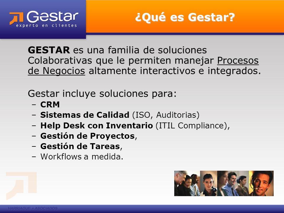 Visión Integral Gestar Gestar es una suite de soluciones que expande el marco de referencia del cliente y del proveedor y los convierte en socios.