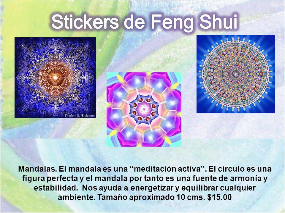 Mandalas. El mandala es una meditación activa. El circulo es una figura perfecta y el mandala por tanto es una fuente de armonía y estabilidad. Nos ay