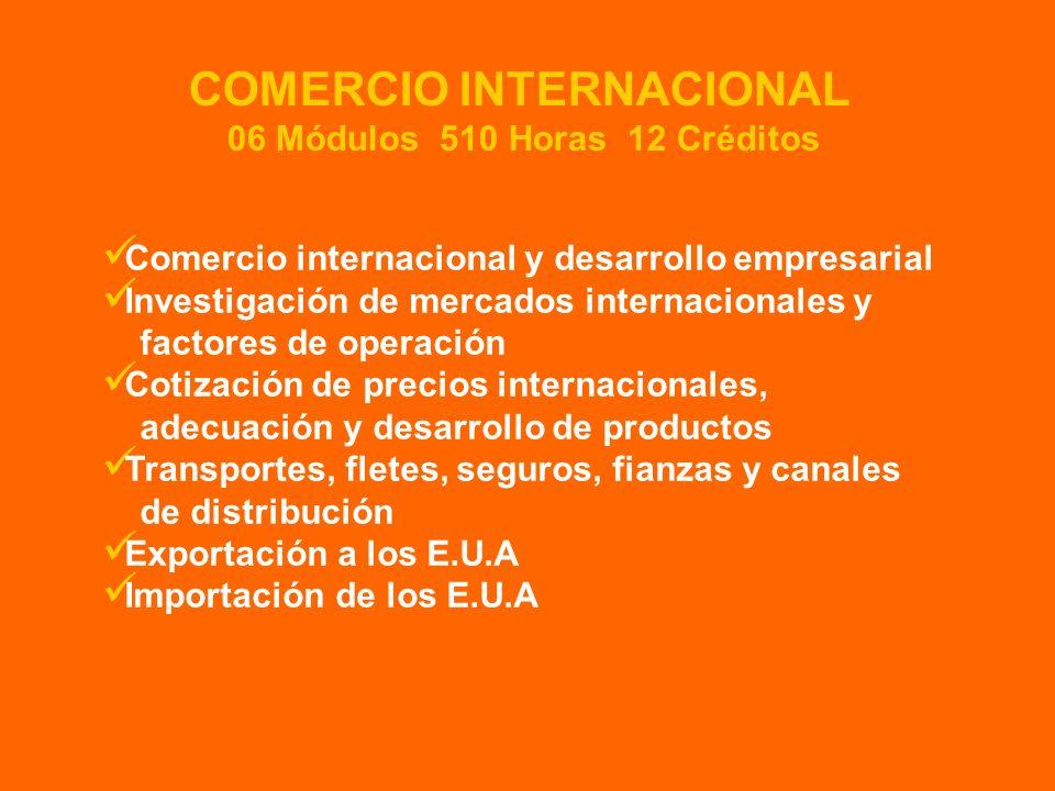 Comercio internacional y desarrollo empresarial Investigación de mercados internacionales y factores de operación Cotización de precios internacionale