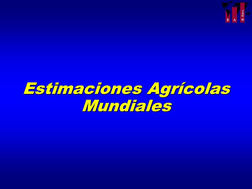 R A & Asoc. Estimaciones Agrícolas Mundiales