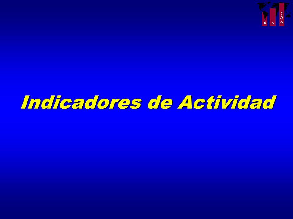R A & Asoc. Indicadores de Actividad