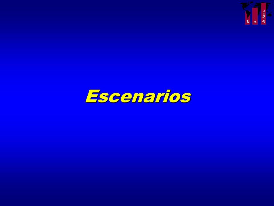 R A & Asoc. Escenarios