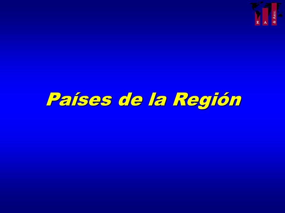 R A & Asoc. Países de la Región
