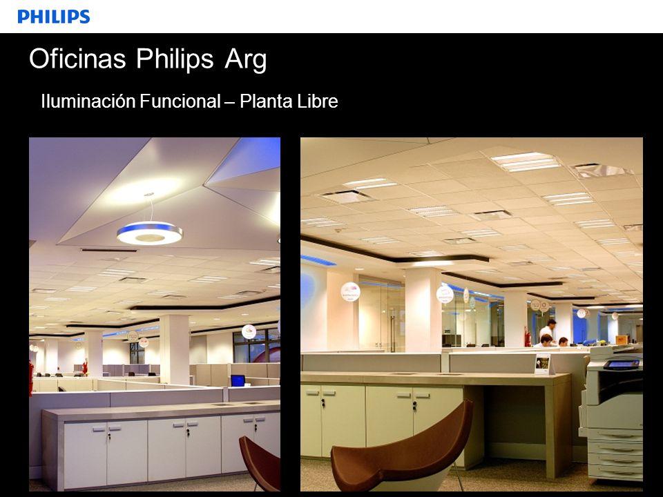 SEGMENTO Oficinas Philips Arg Iluminación Funcional – Planta Libre