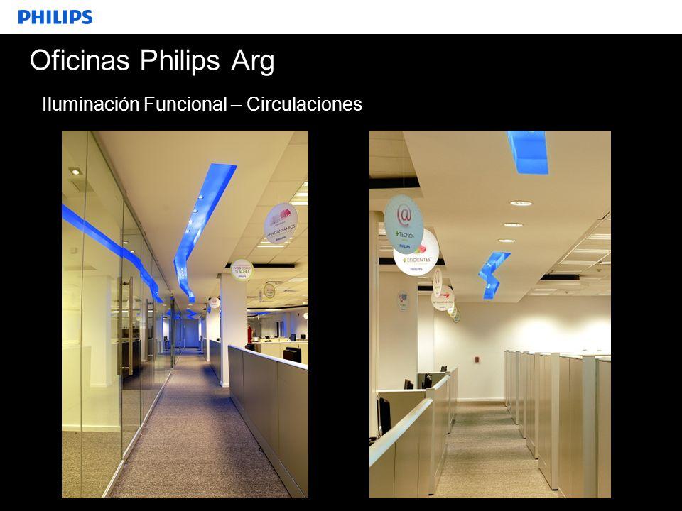 SEGMENTO Oficinas Philips Arg Iluminación Funcional – Circulaciones