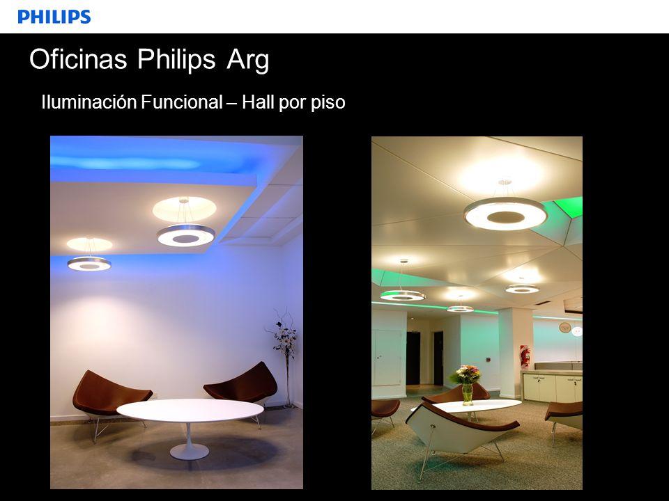 SEGMENTO Oficinas Philips Arg Iluminación Funcional – Hall por piso