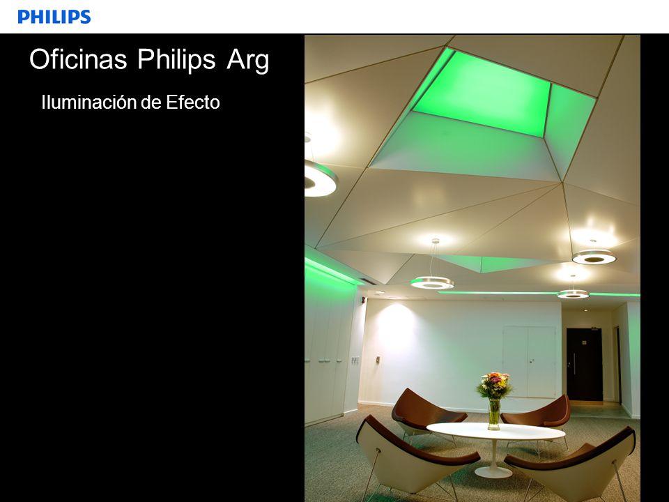 SEGMENTO Oficinas Philips Arg Iluminación de Efecto