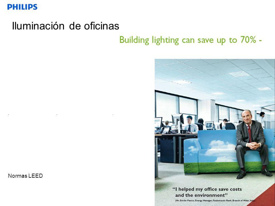 SEGMENTO Transformando el modo como consumimos energía Modificando el modo de trabajo Las empresas sufren más presión para ahorrar El espacio expresa identidad Transformación de los espacios en las oficinas