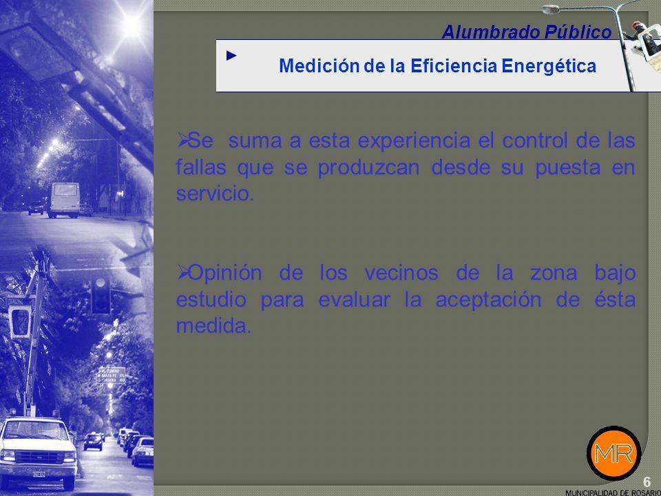 Objetivos Medición de parámetros.Alumbrado Público Tensión de entrada al regulador.