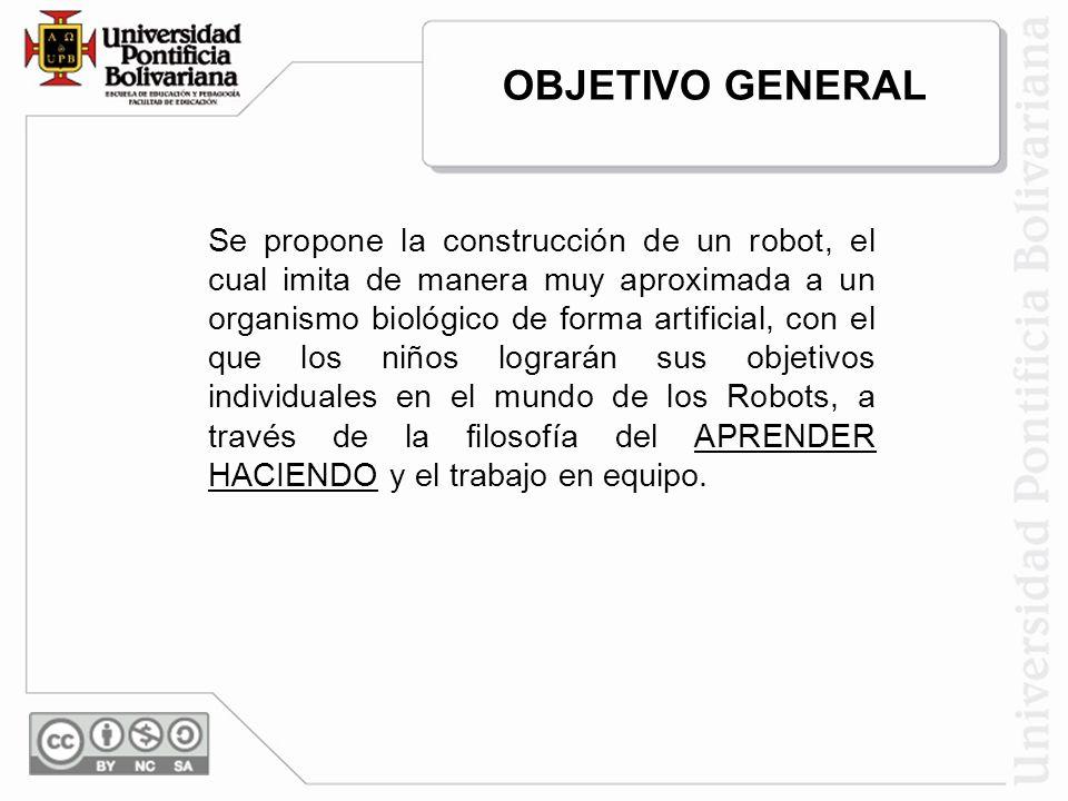 OBJETIVOS ESPECIFICOS Asimilar los conceptos básicos de la electrónica y mecánica.