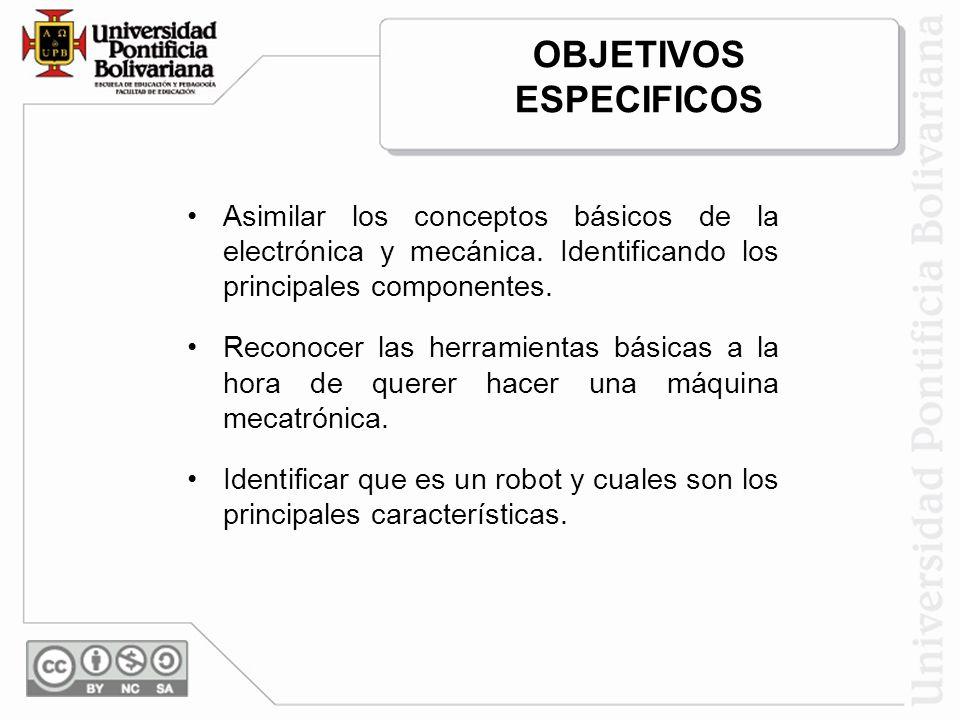 OTROS: Mini-Robots Unidad académica: Ingenierías Facultad: Facultad de Ingeniería Electrónica Profesor: Iván Darío Mora E – mail: ivan.mora@upb.edu.co