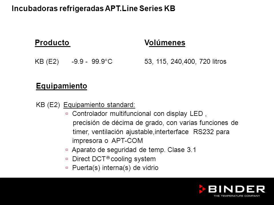 Equipamiento KB (E2)Equipamiento standard: Controlador multifuncional con display LED, precisión de décima de grado, con varias funciones de timer, ve