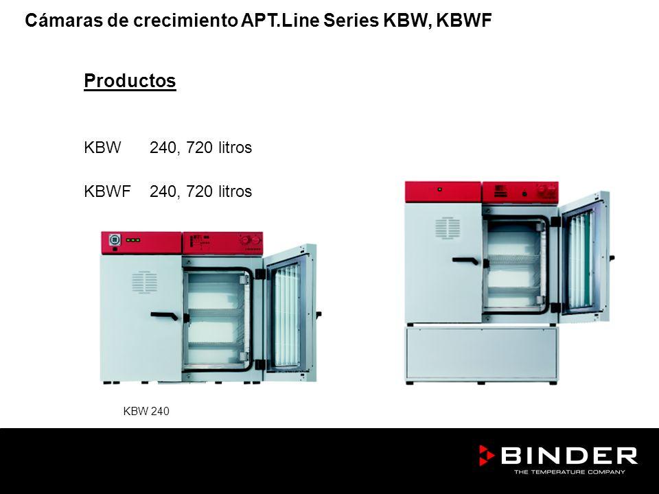 Productos KBW240, 720 litros KBWF240, 720 litros KBW 240 KBWF 240 Cámaras de crecimiento APT.Line Series KBW, KBWF