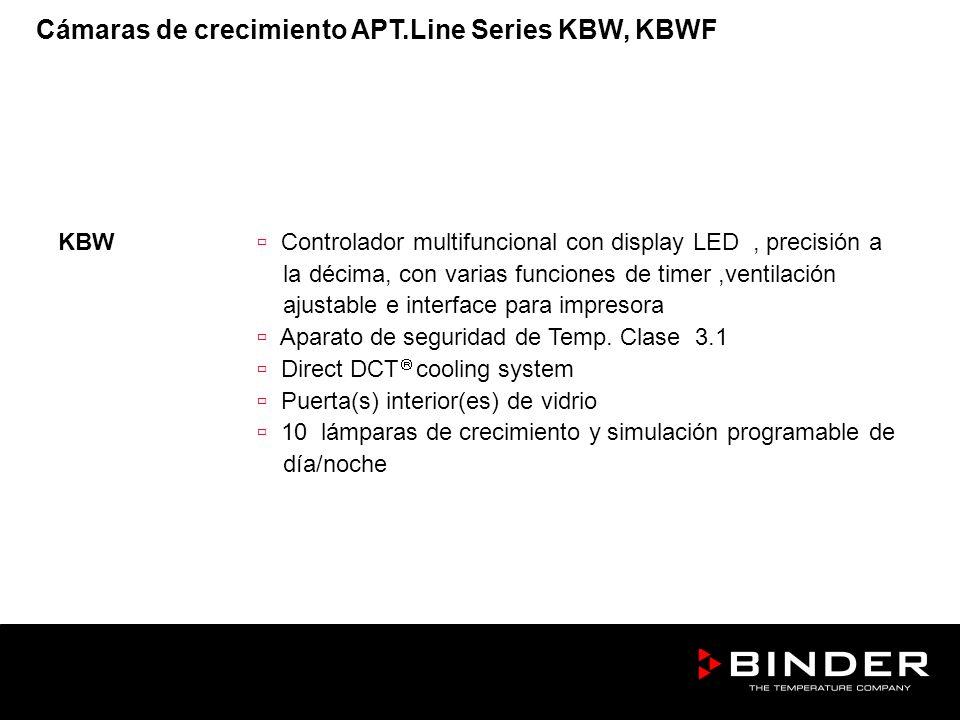 KBW Controlador multifuncional con display LED, precisión a la décima, con varias funciones de timer,ventilación ajustable e interface para impresora