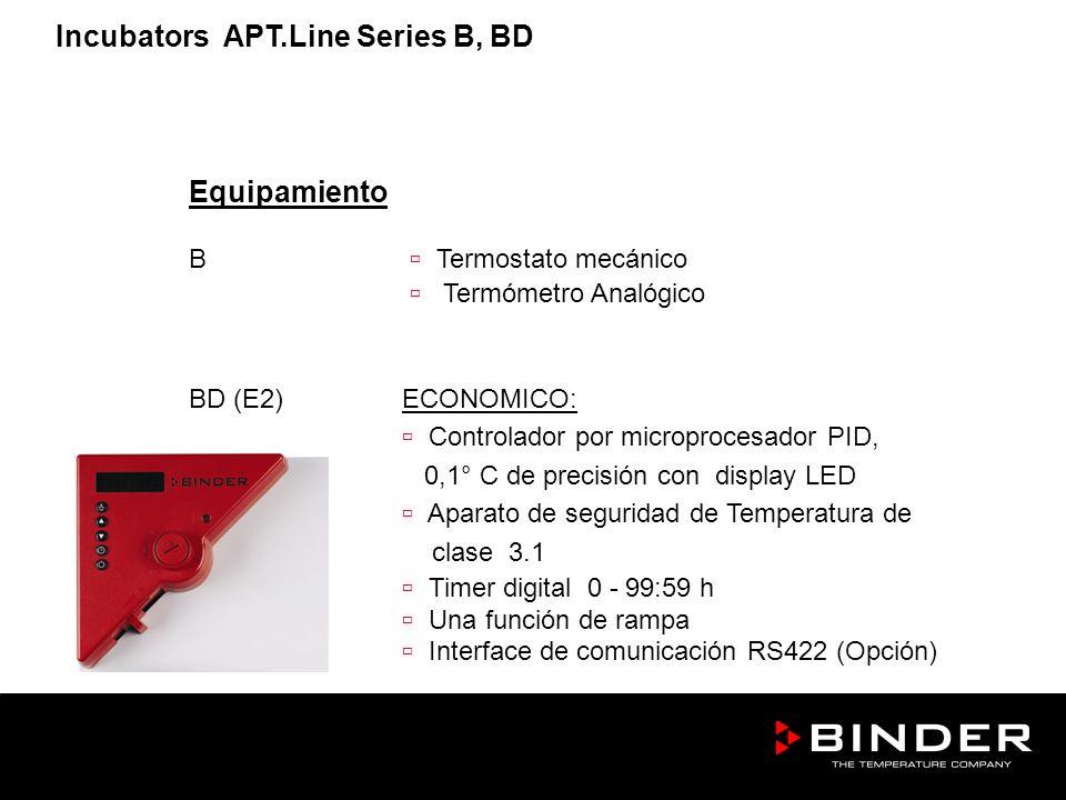 Equipamiento B Termostato mecánico Termómetro Analógico BD (E2)ECONOMICO: Controlador por microprocesador PID, 0,1° C de precisión con display LED Apa