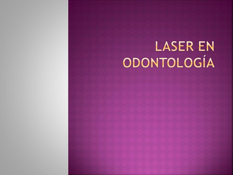La aplicación del láser en Odontología debe basarse en el conocimiento de una serie de procesos físicos y biológicos que dependen de diversos factores.