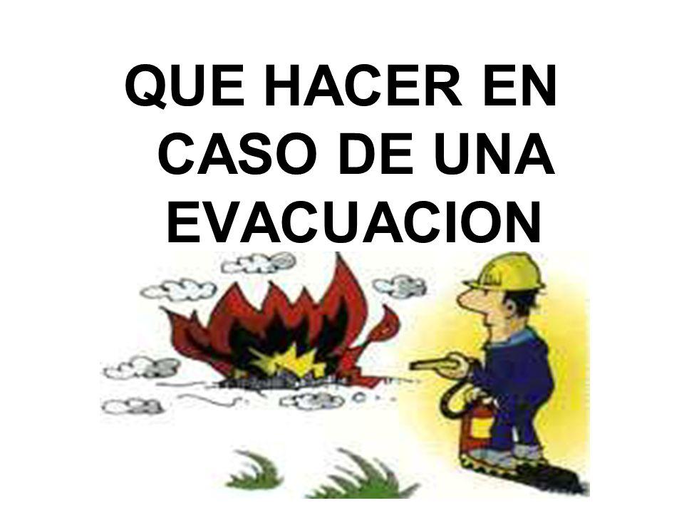 Esté siempre alerta. La mejor manera de evitar los incendios, es la prevención.