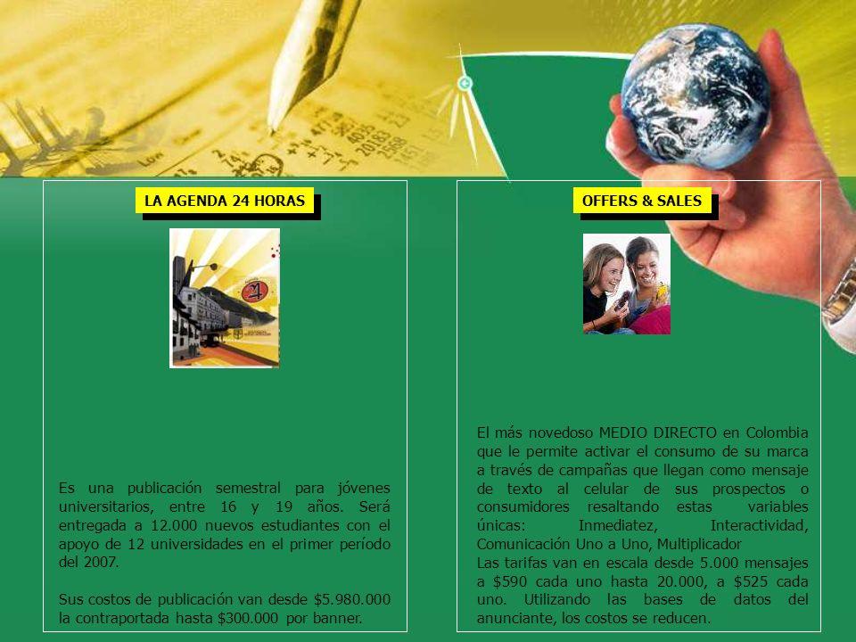 Es una publicación semestral para jóvenes universitarios, entre 16 y 19 años. Será entregada a 12.000 nuevos estudiantes con el apoyo de 12 universida