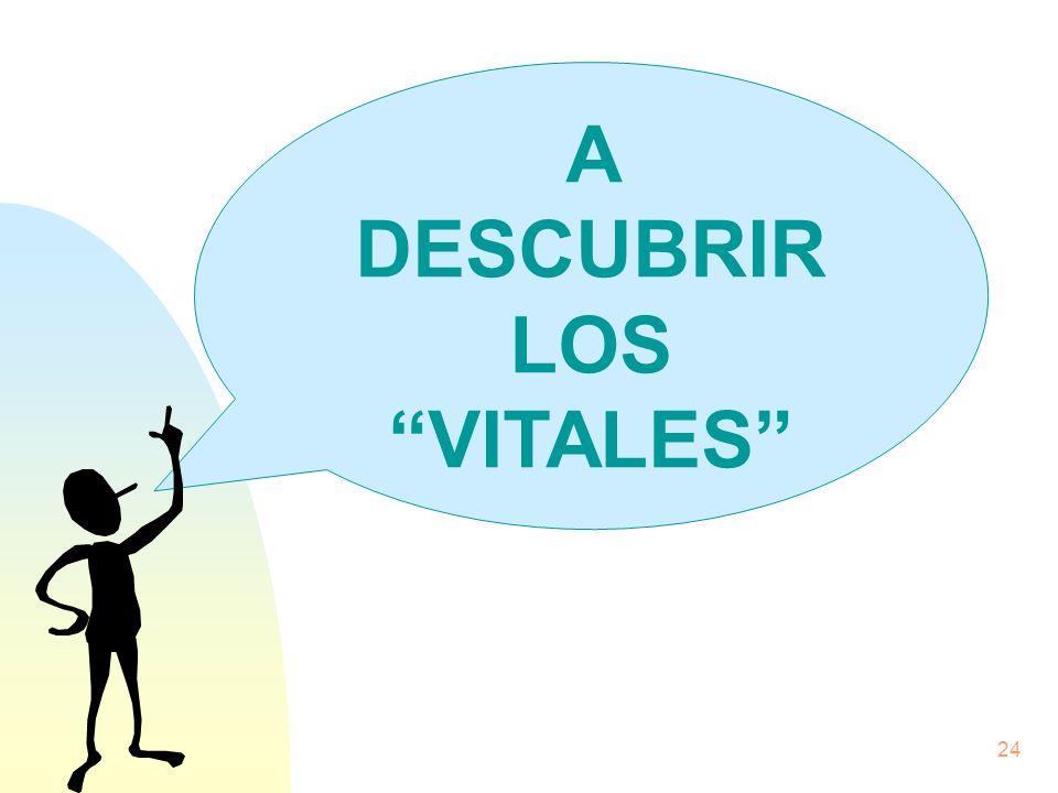 24 A DESCUBRIR LOS VITALES