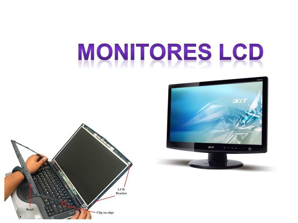 La misión del monitor LCD es igual a la de un monitor TRC con las diferencias tecnologías en la composición de la imagen.