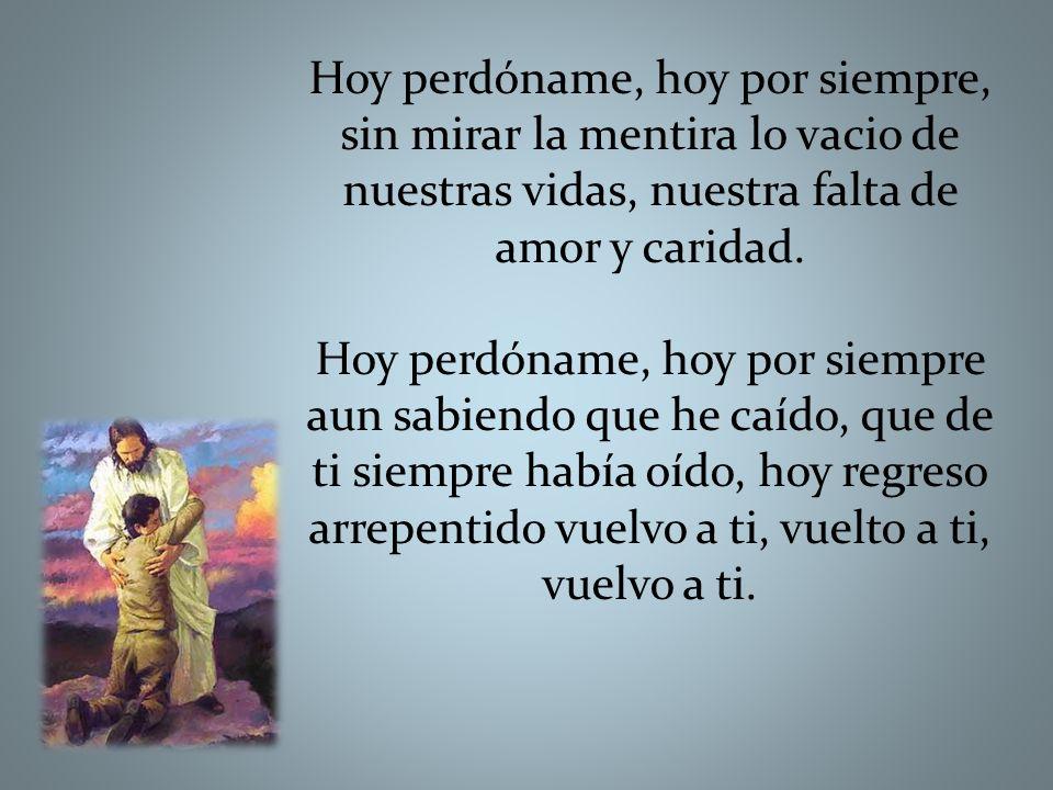 CORDERO Cordero de Dios, que quitas el pecado De este mundo, Ten piedad Señor, ten piedad.