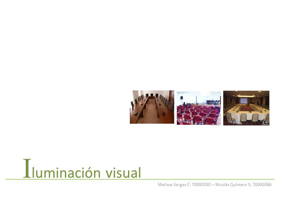 I luminación visual Melissa Vargas C. 70092030 – Nicolás Quintero S. 70092066