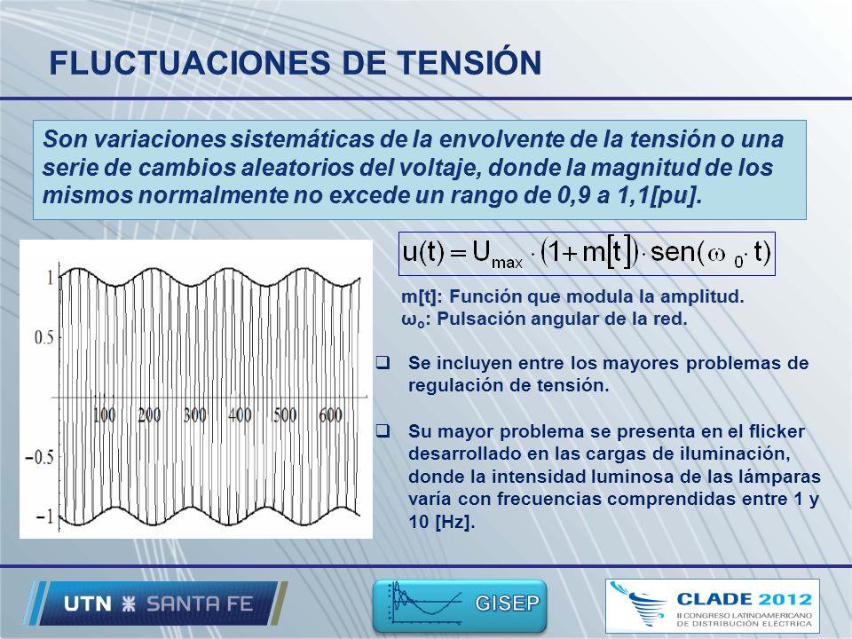 Se incluyen entre los mayores problemas de regulación de tensión.