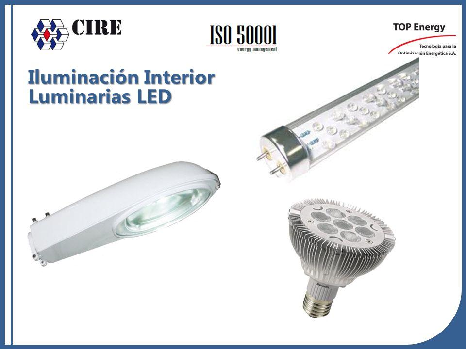 Iluminación Interior Luminarias LED
