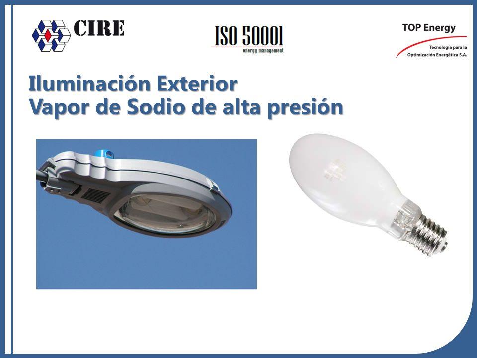 Iluminación Exterior Vapor de Sodio de alta presión