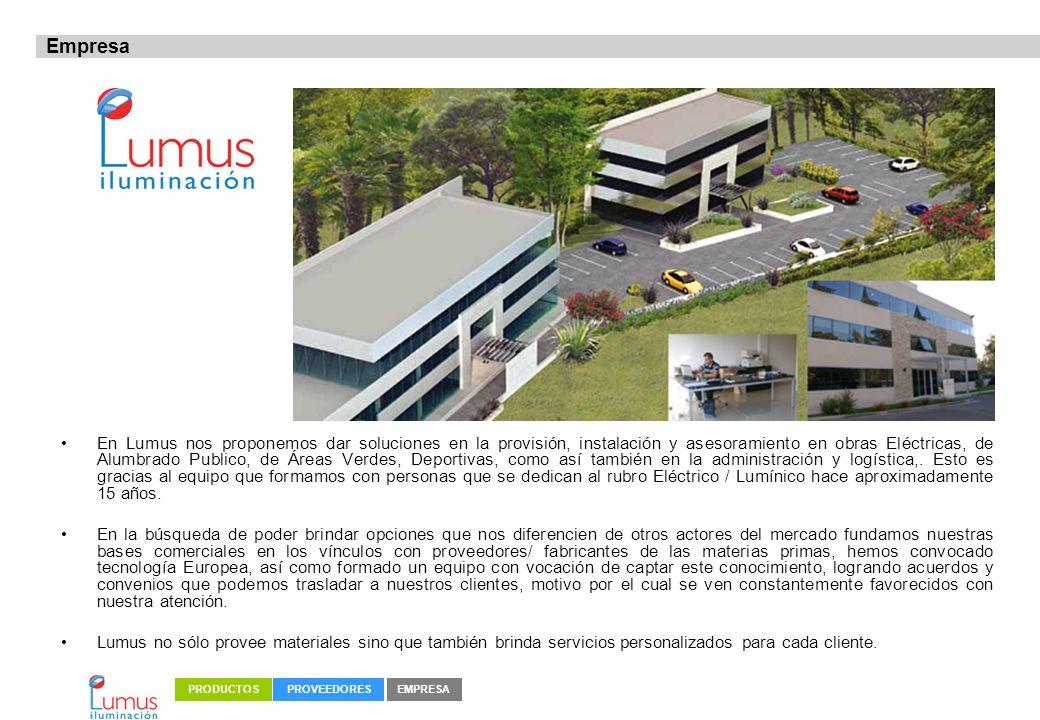 En Lumus nos proponemos dar soluciones en la provisión, instalación y asesoramiento en obras Eléctricas, de Alumbrado Publico, de Áreas Verdes, Deport