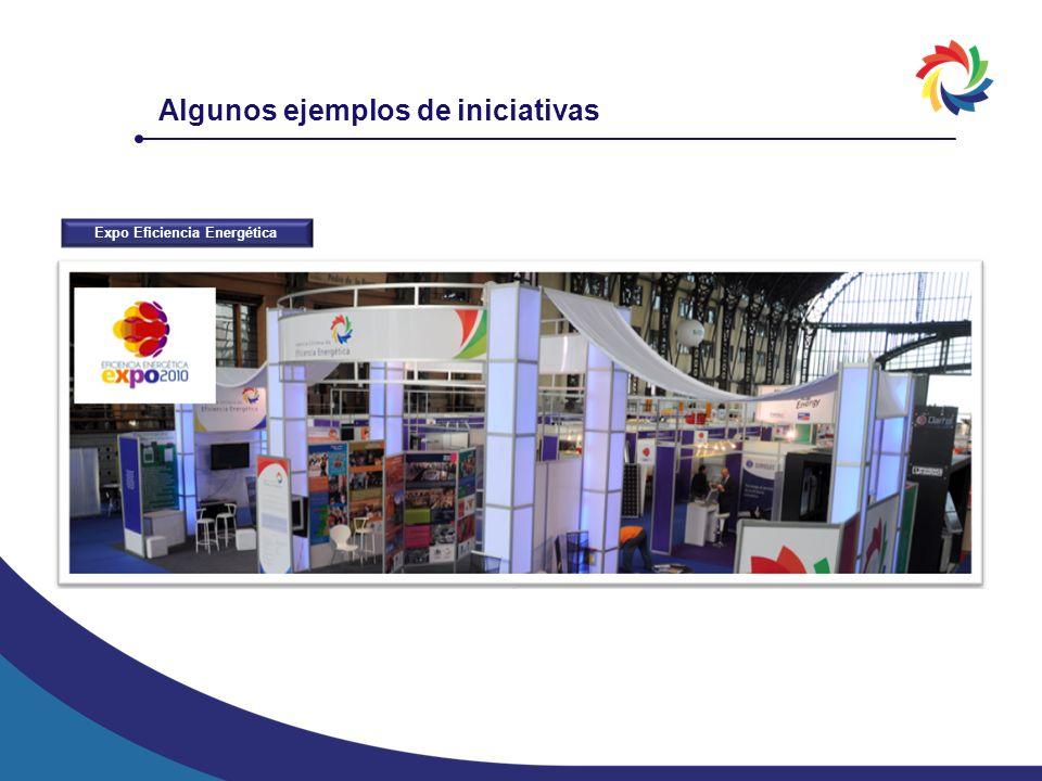 Expo Eficiencia Energética Algunos ejemplos de iniciativas