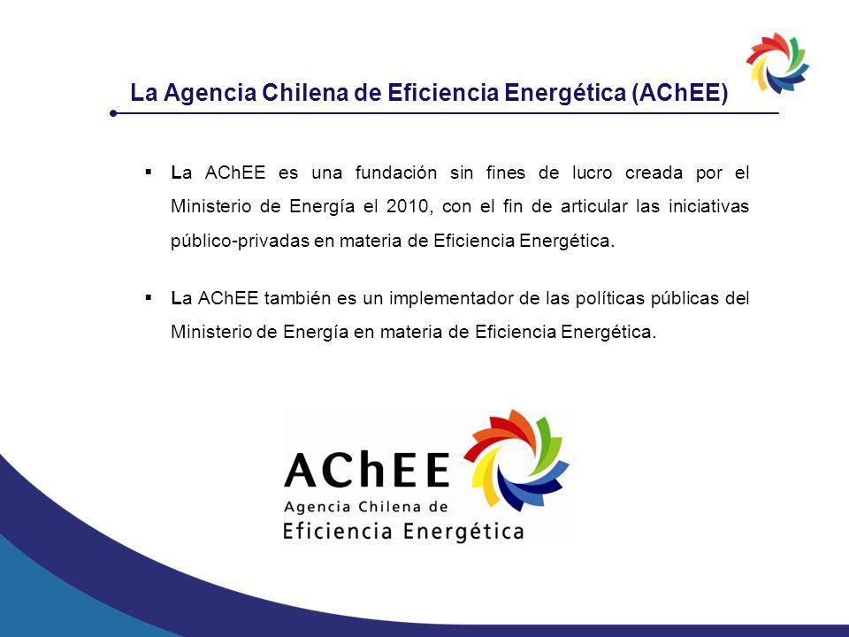 La AChEE es una fundación sin fines de lucro creada por el Ministerio de Energía el 2010, con el fin de articular las iniciativas público-privadas en