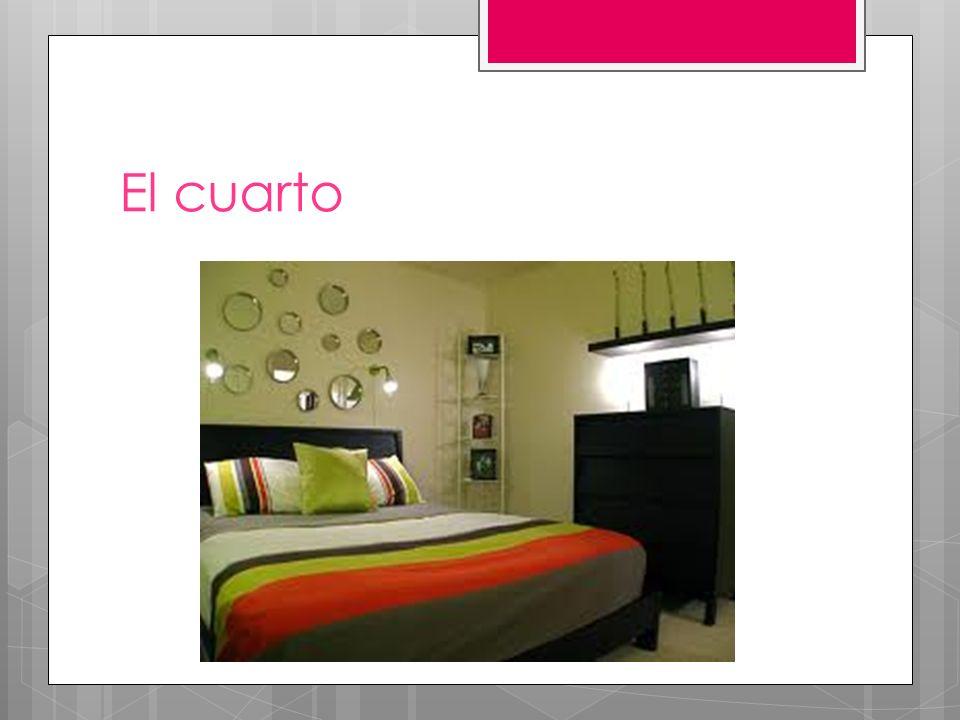 En mi cuarto hay… In my room there is / are…