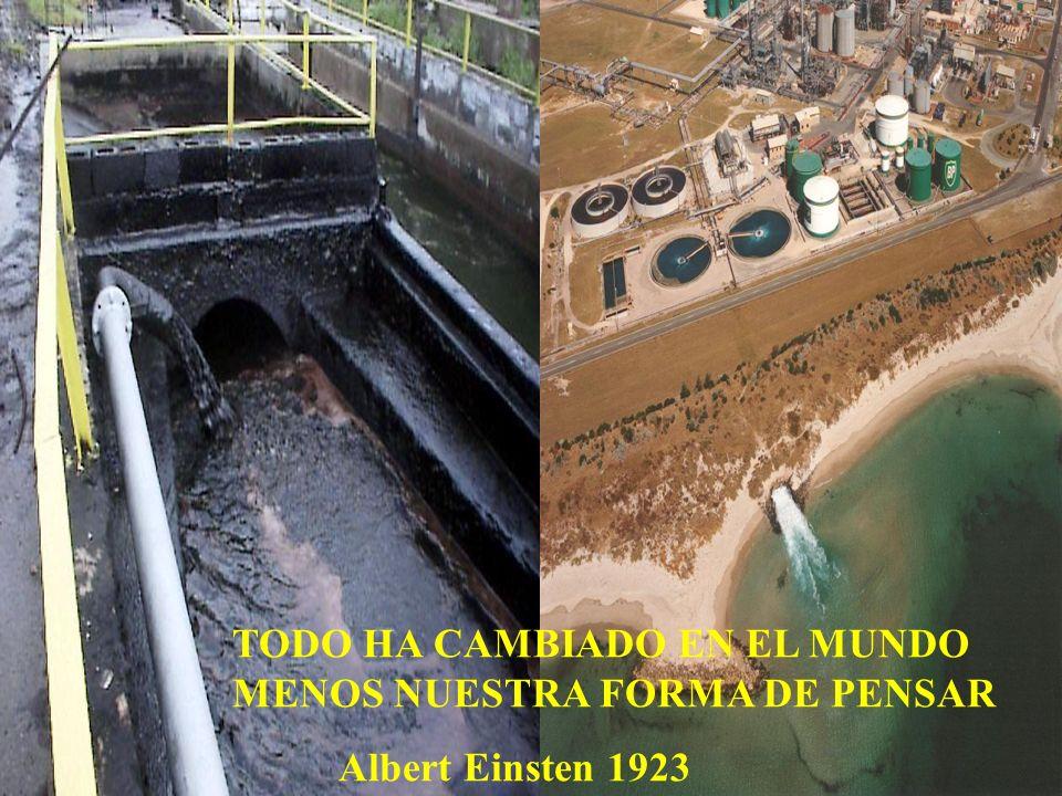 TODO HA CAMBIADO EN EL MUNDO MENOS NUESTRA FORMA DE PENSAR Albert Einsten 1923