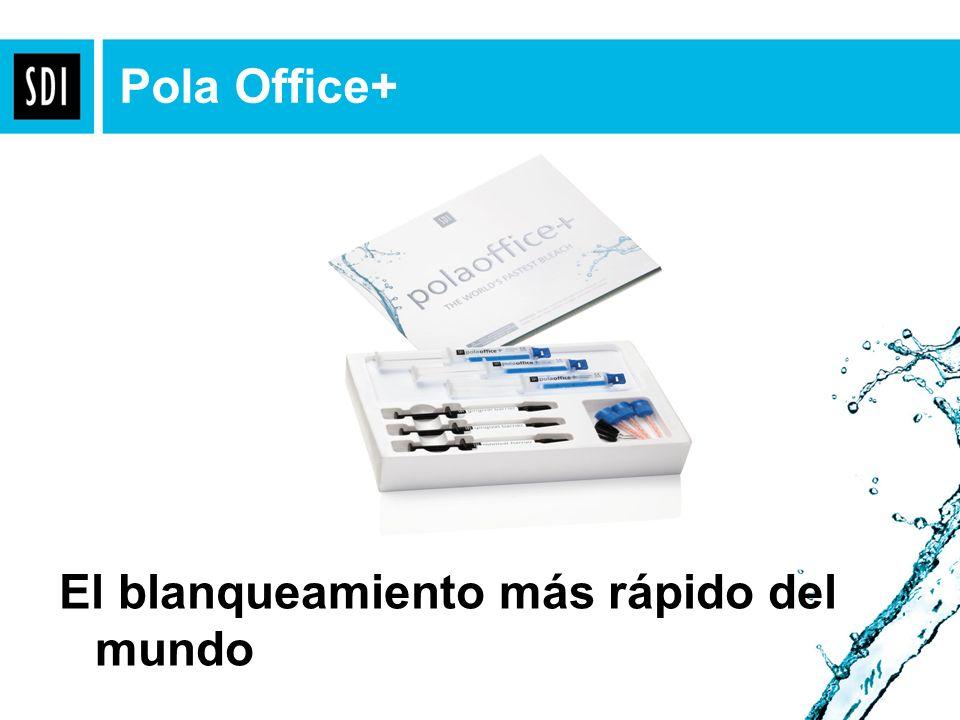 El blanqueamiento más rápido del mundo Pola Office+