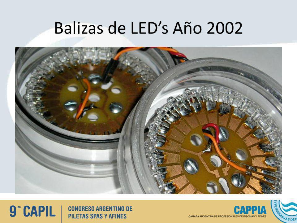 Lámparas Tradicionales utilizadas para iluminación subacuática Lámparas PAR ( Tungsteno ).- AR 111 Halógeno.- Bi Pin /Halógeno / Dicroicas.- Led Diferentes tipos.-
