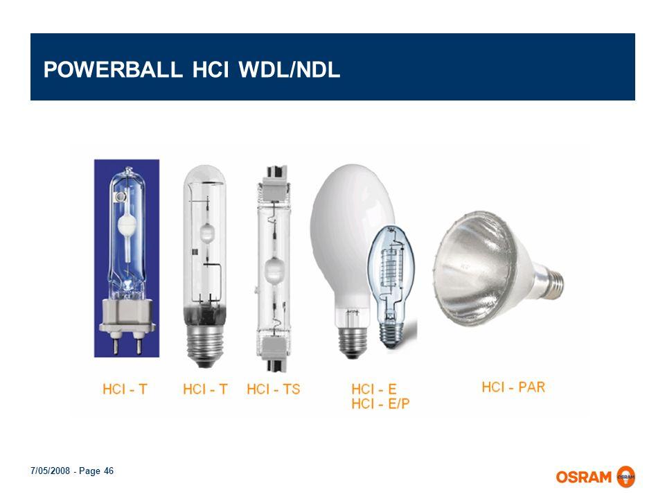 7/05/2008 - Page 45 POWERBALL HCI Cerámico redondeado muestra menor absorción de luz en las inmediaciones de los capilares. Esto permite aumentar fluj