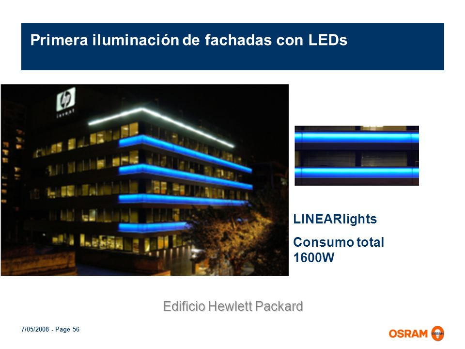 7/05/2008 - Page 55 COINlight en OSRAM Argentina 75 COINlights instalados 75 COINlights instalados Menos de 90 Watts Menos de 90 Watts Solo 2 OPTOTRON