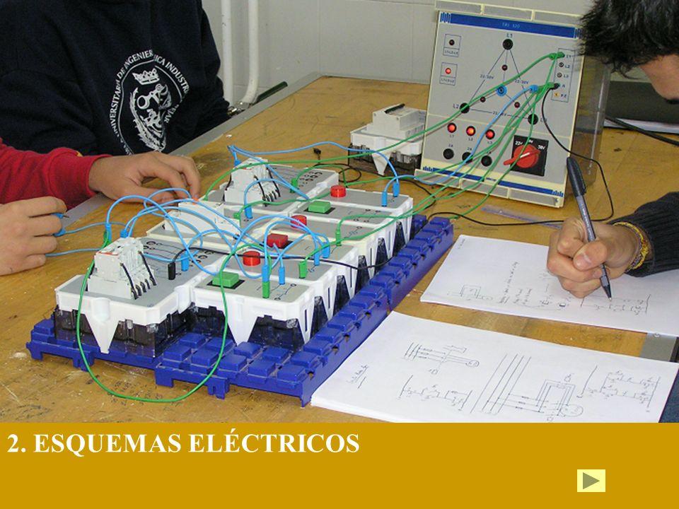 1.Símbolos eléctricos 2..Tipos de esquemas 3. Conexiones serie y paralelo 3.1.